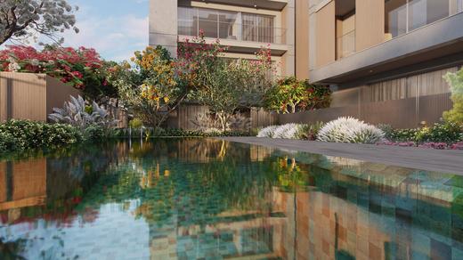 Piscina - Apartamento à venda Rua Andrade Fernandes,Alto de Pinheiros, São Paulo - R$ 4.712.053 - II-1467-5597 - 20