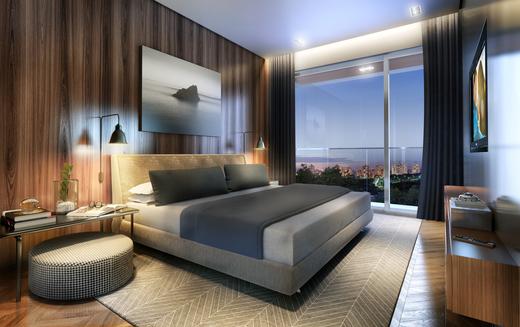 Dormitorio - Apartamento à venda Rua Andrade Fernandes,Alto de Pinheiros, São Paulo - R$ 4.712.053 - II-1467-5597 - 15