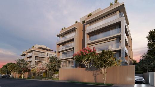 Fachada - Apartamento à venda Rua Andrade Fernandes,Alto de Pinheiros, São Paulo - R$ 4.712.053 - II-1467-5597 - 1