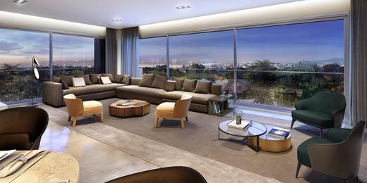 Living - Apartamento à venda Rua Andrade Fernandes,Alto de Pinheiros, São Paulo - R$ 4.712.053 - II-1467-5597 - 10