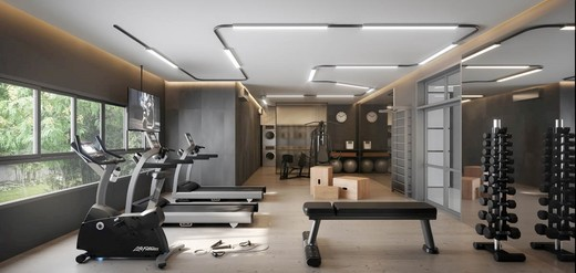 Fitness - Studio à venda Rua Doutor Jesuíno Maciel,Campo Belo, Zona Sul,São Paulo - R$ 388.665 - II-6214-14664 - 6