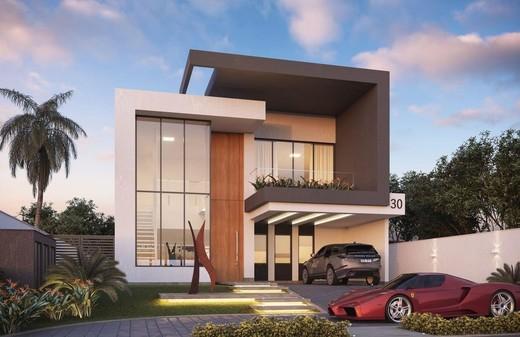 Fachada - Fachada - Casa 4 Condomínio Alphaville - 115 - 1