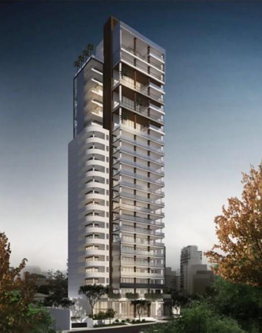 Fachada - Apartamento à venda Rua Tatuí,Jardim Paulistano, São Paulo - R$ 11.788.245 - II-4175-11169 - 1