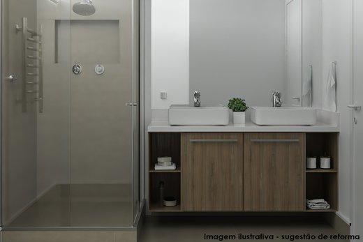 Banheiro - Apartamento à venda Alameda Itu,Jardim América, São Paulo - R$ 2.096.000 - II-6245-14727 - 6