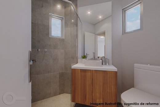 Banheiro - Apartamento 2 quartos à venda Vila Madalena, São Paulo - R$ 835.000 - II-6247-14729 - 3