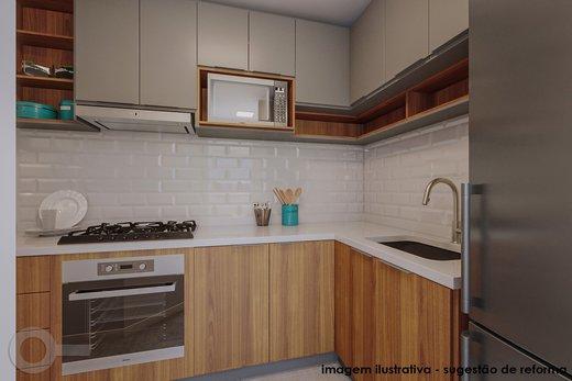Cozinha - Apartamento 2 quartos à venda Vila Madalena, São Paulo - R$ 835.000 - II-6247-14729 - 4