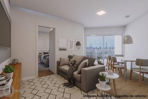 Living - Apartamento 2 quartos à venda Vila Madalena, São Paulo - R$ 835.000 - II-6247-14729 - 6