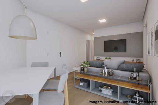 Living - Apartamento 2 quartos à venda Vila Madalena, São Paulo - R$ 835.000 - II-6247-14729 - 7