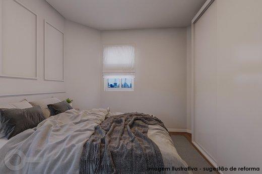 Quarto principal - Apartamento 2 quartos à venda Vila Madalena, São Paulo - R$ 835.000 - II-6247-14729 - 8