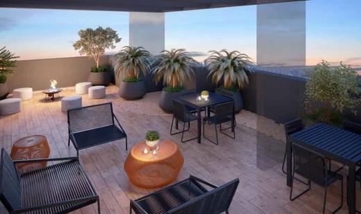 Lounge externo - Studio à venda Rua Doutor Tomás Alves,Vila Mariana, São Paulo - R$ 325.300 - II-6350-14883 - 12