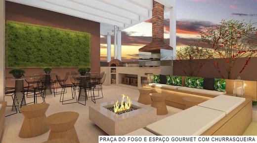 Fire place - Fachada - Primevo - Residencial - 202 - 9