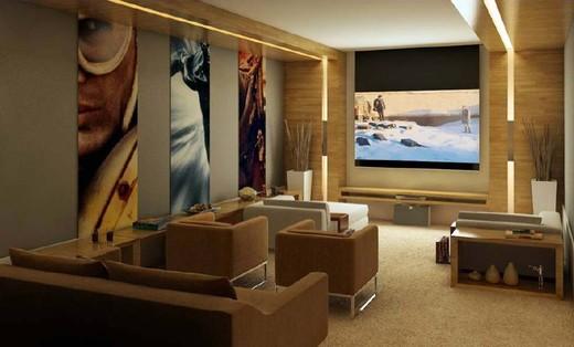 Sala de cinema - Fachada - Village Florença - 147 - 7