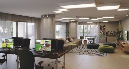 Sala de jogos - Fachada - Ícono Parque Residências - 96 - 4