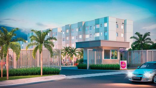 Portaria - Apartamento 2 quartos à venda Campo Grande, Rio de Janeiro - R$ 153.000 - II-6613-15214 - 3