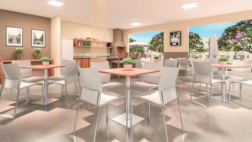 Salao de festas - Apartamento 2 quartos à venda Campo Grande, Rio de Janeiro - R$ 153.000 - II-6613-15214 - 4