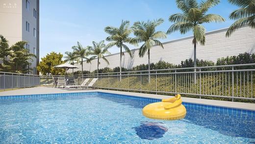 Piscina - Apartamento 2 quartos à venda Campo Grande, Rio de Janeiro - R$ 162.000 - II-6480-15068 - 12