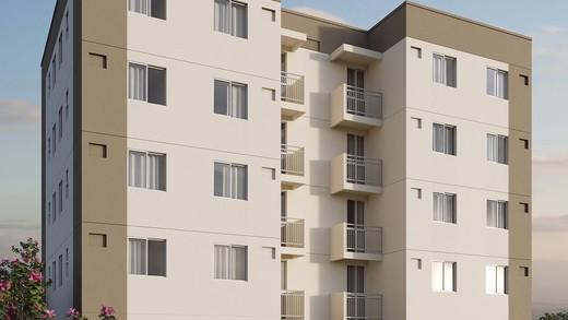 Fachada - Apartamento 2 quartos à venda Campo Grande, Rio de Janeiro - R$ 162.000 - II-6480-15068 - 3