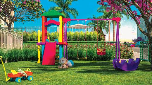 Playground - Apartamento 2 quartos à venda Campo Grande, Rio de Janeiro - R$ 153.000 - II-6613-15214 - 6