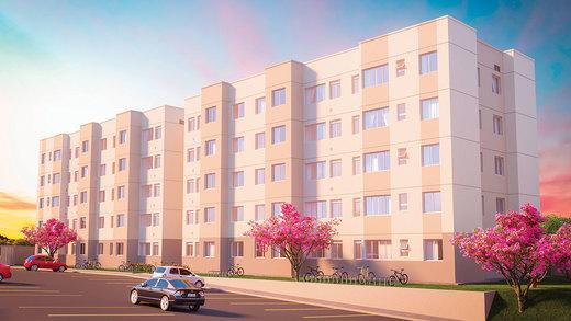 Fachada - Apartamento 2 quartos à venda Campo Grande, Rio de Janeiro - R$ 153.000 - II-6613-15214 - 1