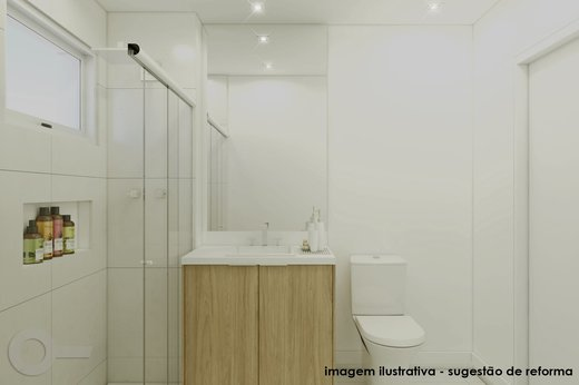 Banheiro - Apartamento 2 quartos à venda Vila Madalena, São Paulo - R$ 806.000 - II-6642-15257 - 3