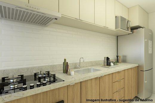 Cozinha - Apartamento 2 quartos à venda Vila Madalena, São Paulo - R$ 806.000 - II-6642-15257 - 5