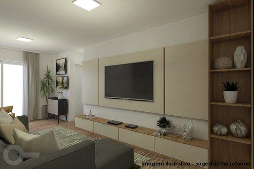 Living - Apartamento 2 quartos à venda Vila Madalena, São Paulo - R$ 806.000 - II-6642-15257 - 6
