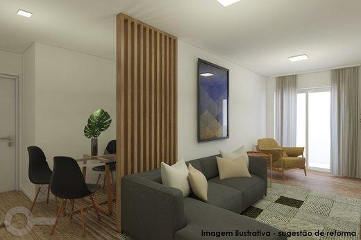 Living - Apartamento 2 quartos à venda Vila Madalena, São Paulo - R$ 806.000 - II-6642-15257 - 7