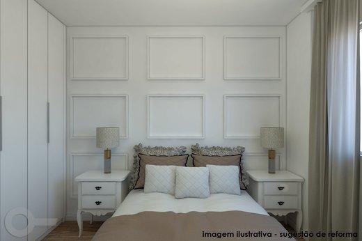 Quarto principal - Apartamento 2 quartos à venda Vila Madalena, São Paulo - R$ 806.000 - II-6642-15257 - 8