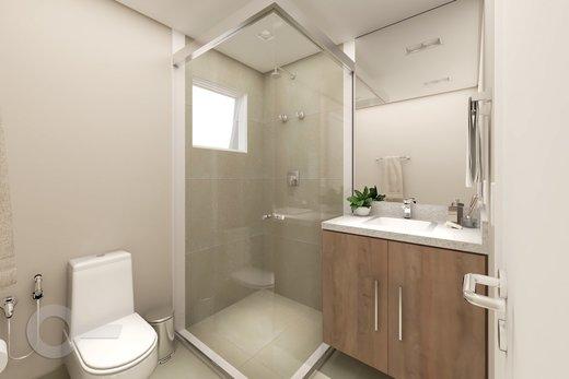 Banheiro - Apartamento 2 quartos à venda Alto da Lapa, São Paulo - R$ 798.000 - II-6679-15306 - 3
