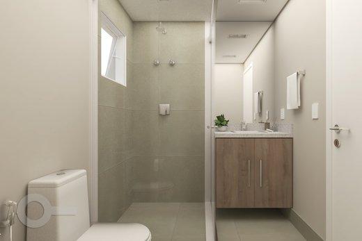 Banheiro - Apartamento 2 quartos à venda Alto da Lapa, São Paulo - R$ 798.000 - II-6679-15306 - 4