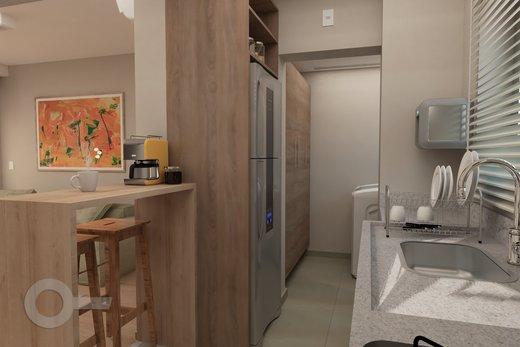 Cozinha - Apartamento 2 quartos à venda Alto da Lapa, São Paulo - R$ 798.000 - II-6679-15306 - 5