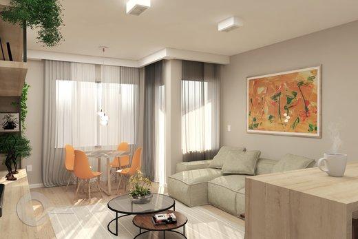 Living - Apartamento 2 quartos à venda Alto da Lapa, São Paulo - R$ 798.000 - II-6679-15306 - 8