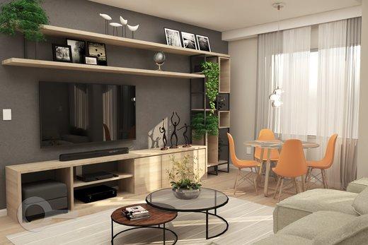 Living - Apartamento 2 quartos à venda Alto da Lapa, São Paulo - R$ 798.000 - II-6679-15306 - 9