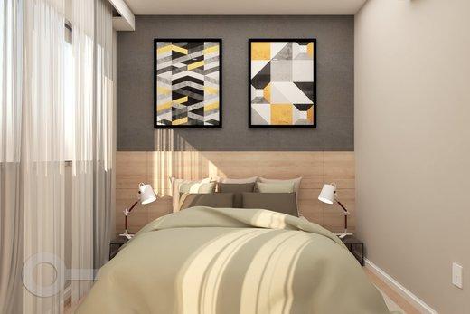 Quarto principal - Apartamento 2 quartos à venda Alto da Lapa, São Paulo - R$ 798.000 - II-6679-15306 - 11