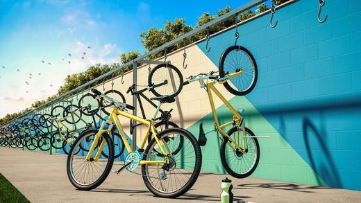 Bicicletario - Fachada - Viva Vida Felicidade - 158 - 5