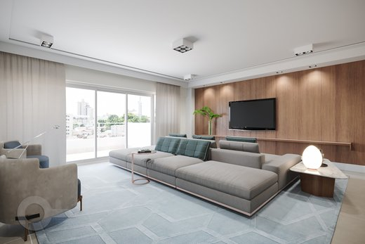 Living - Apartamento 3 quartos à venda Rio de Janeiro,RJ - R$ 3.370.000 - II-6767-15405 - 6