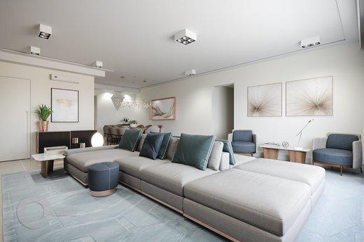 Living - Apartamento 3 quartos à venda Rio de Janeiro,RJ - R$ 3.370.000 - II-6767-15405 - 7