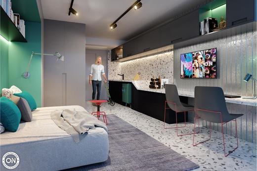 Dormitorio - Studio à venda Avenida Bernardinho de Campos,Vila Mariana, São Paulo - R$ 498.184 - II-6782-15425 - 5