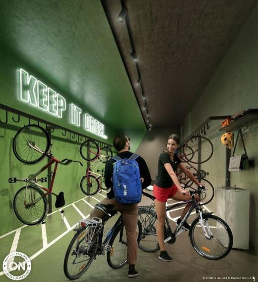 Bicicletario - Fachada - Breve Lançamento - ON Loefgreen - 671 - 10