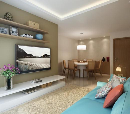 Living - Fachada - Park Premium Recreio - 1232 - 4