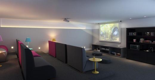 Sala cinema - Fachada - Park Premium Recreio - 1232 - 11