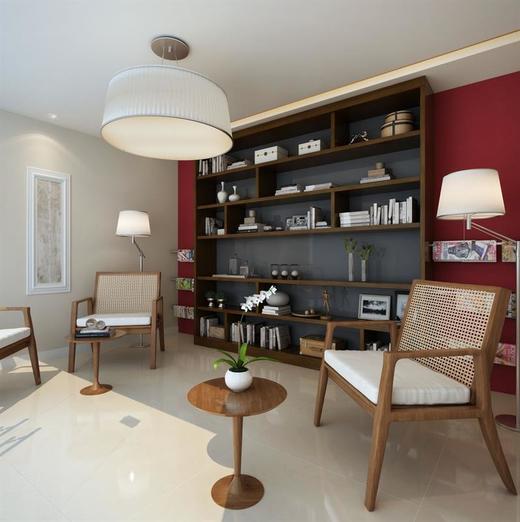 Sala de leitura - Fachada - Park Premium Recreio - 1232 - 8