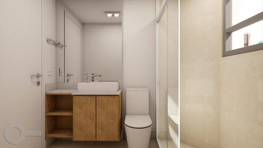 Banheiro - Apartamento à venda Rua Baltazar da Veiga,Vila Nova Conceição, Zona Sul,São Paulo - R$ 601.000 - II-6891-15582 - 3