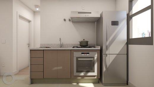 Cozinha - Apartamento à venda Rua Baltazar da Veiga,Vila Nova Conceição, Zona Sul,São Paulo - R$ 601.000 - II-6891-15582 - 4