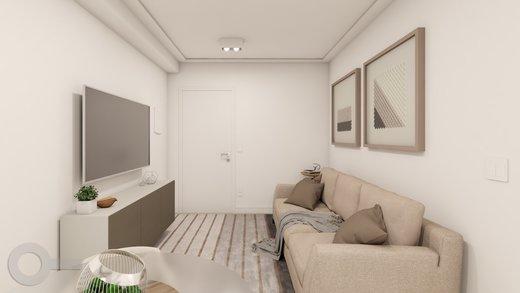 Living - Apartamento à venda Rua Baltazar da Veiga,Vila Nova Conceição, Zona Sul,São Paulo - R$ 601.000 - II-6891-15582 - 6