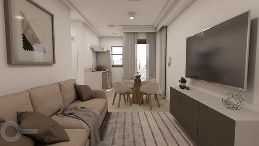 Living - Apartamento à venda Rua Baltazar da Veiga,Vila Nova Conceição, Zona Sul,São Paulo - R$ 601.000 - II-6891-15582 - 7