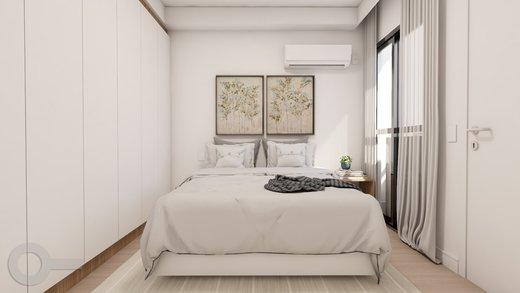 Quarto principal - Apartamento à venda Rua Baltazar da Veiga,Vila Nova Conceição, Zona Sul,São Paulo - R$ 601.000 - II-6891-15582 - 8