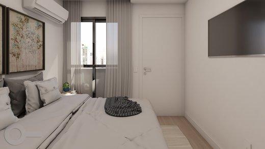Quarto principal - Apartamento à venda Rua Baltazar da Veiga,Vila Nova Conceição, Zona Sul,São Paulo - R$ 601.000 - II-6891-15582 - 9