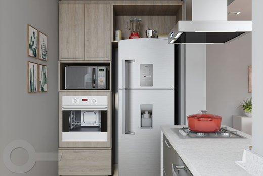 Cozinha - Apartamento 2 quartos à venda Rio de Janeiro,RJ - R$ 1.957.000 - II-6893-15584 - 5