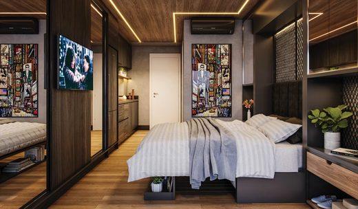 Dormitorio - Studio à venda Avenida Santo Amaro,Brooklin, São Paulo - R$ 509.420 - II-6906-15603 - 17
